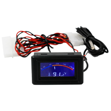 Digital LCD Pointer Thermometer -50-110C C/F for Computer Case Car Water Temperature Meter DC 5-25V Gauge 40% off(China)