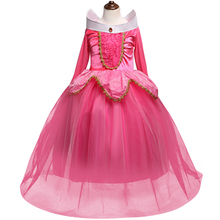 Princess Dress Kids Dresses for Girls Dress Cosplay party Halloween Costumes For Cinderella Christmas Girls Clothes Birthday(China)