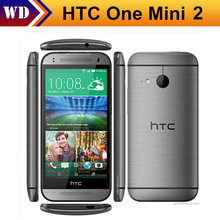 "Unlocked Original Cell Phones HTC One mini 2 Quad-Core 13.0MP 4.5""TouchScreen LTE 16GB Refurbished Smartphone"