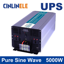 Universal inverter UPS+Charger 5000W Pure Sine Wave Inverter CLP5000A DC 12V 24V 48V to AC 110V 220V 5000W Surge Power 10000W