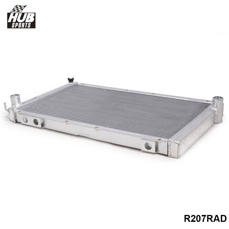 2-Row//CORE Aluminum Radiator+Fan Shroud For Subaru Forester XT Premium 04-05