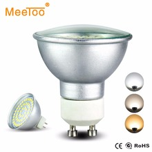 LED Lamp Bulb GU10 MR16 220V 110V 12V Aluminum Design with Clear Glass Protecting Cover 8W 6W 4W Energy Saving Lights for Home