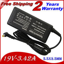 Replacement For Lenovo/Asus/Toshiba 19V 3.42A 5.5*2.5MM 65W k50ij K40IJ g550 N500 x550c A52F Laptop AC Charger Power Adapter