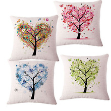 European Love tree super Hot Home Sofa seat Decorative Pillow  Cushion with no filling wedding party gift Pads Cojin