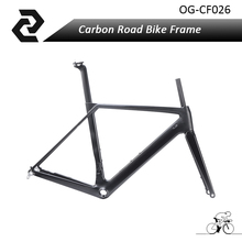 OG-EVKIN taiwan high quality full Carbon fiber bicycle frame road  DISC brake size: S/M/L available UD weave with BB86
