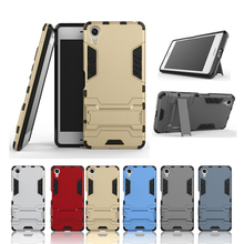 Case for Sony Xperia X Performance Hybrid Dual Heavy Duty Hard Silicone+PC Armor Back Case For Sony XP F8132 Cover coque(China)