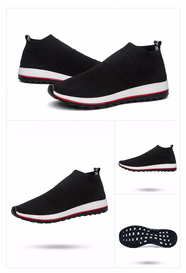 Hot Sale Breathable Men Shoes Mesh (air Mesh) Superstar Sneakers Light Flats Mens Loafers Casual Slip on Male Chaussure Homme 9