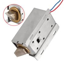 Factory Price DC 12V Small Size Solenoid Electromagnetic Electric Control Cabinet Drawer Lock(China)