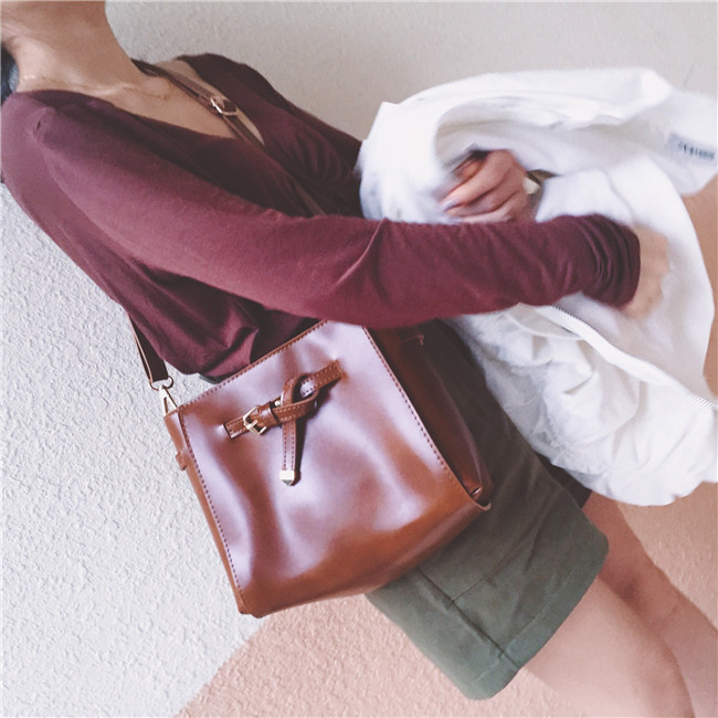 2017 New Vintage Luxury Leather Bags Big Women Shoulder Bags  Handbags High Quality Female casual tote women-messenger-bags<br><br>Aliexpress