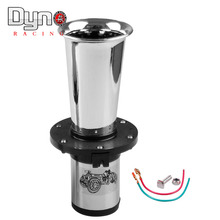 12v Loud Classic Chrome Air Horn for Car Van Truck Train RV AUTO Boat Alarm Horn