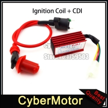 Performance Red Ignition Coil Racing 5 Pin AC CDI For XR50 CRF50 Pit Dirt Motor Trail Bike Motorcycle 90cc 110cc 125cc Engine