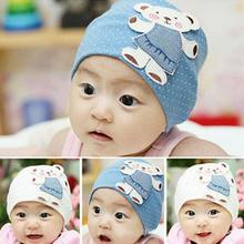 Cute Unisex Autumn Newborn Crochet Baby beanie Hat Girl Boy Cap Infant Winter Bear Cotton Cartoon