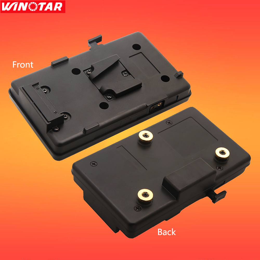 V-Mount Lock Anton Bauer Battery Adaptor Plate Fit Sony Panasonic JVC Video,free tracking number