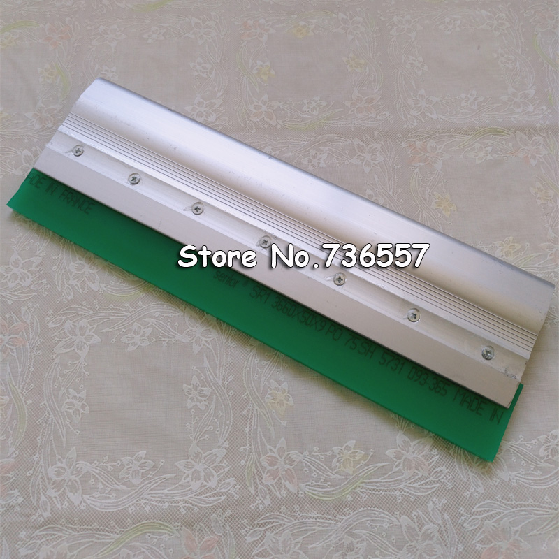 New Aluminium Alloy Handle Screen Printing Squeegee 35cm / 13.8 Inch Customization Accpeted<br>