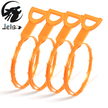 Jelbo 51cm Snake Shaped Sink Cleaner Kitchen Sink Drian Filter Strainer Bathroom Pipe Drain Cleaner Dredge Wig Removal Clog Tool