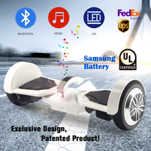 USA Germany Stock Patented self balance scooters hoverboard smart balance 7.5 inch +100% samsung battery 36v electric scooter(China)