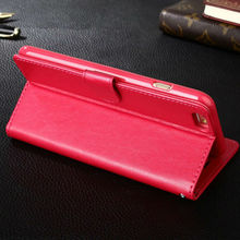 CloudTech Business Style Luxury Leather Case For iPhone 6 6s Plus Cover Fashion Wallet Card Holder Shell Funda For i 7 7 Pl
