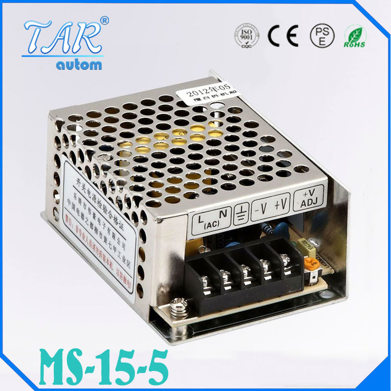 5V 3A MS-15-5 MINI led driver, mini switching power supply,min power switch,mini size smps with overload protectio<br><br>Aliexpress