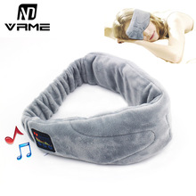 Vrme Wireless Headphone Eye Mask Sleeping Bluetooth Headset Stereo Earphone with Microphone For Xiaomi iPad iPhone 6 5S Sumsung(China)