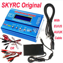 Promotion Free shipping Original SKYRC IMAX B6 Digital RC Lipo NiMh Battery Balance Charger With AC POWER 12v 5A Adapter