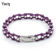 Stainless steel Chain bracelet jewelry birthday wedding bridal party gifts for women wife her girlfriend mom dropshipping D094(China)
