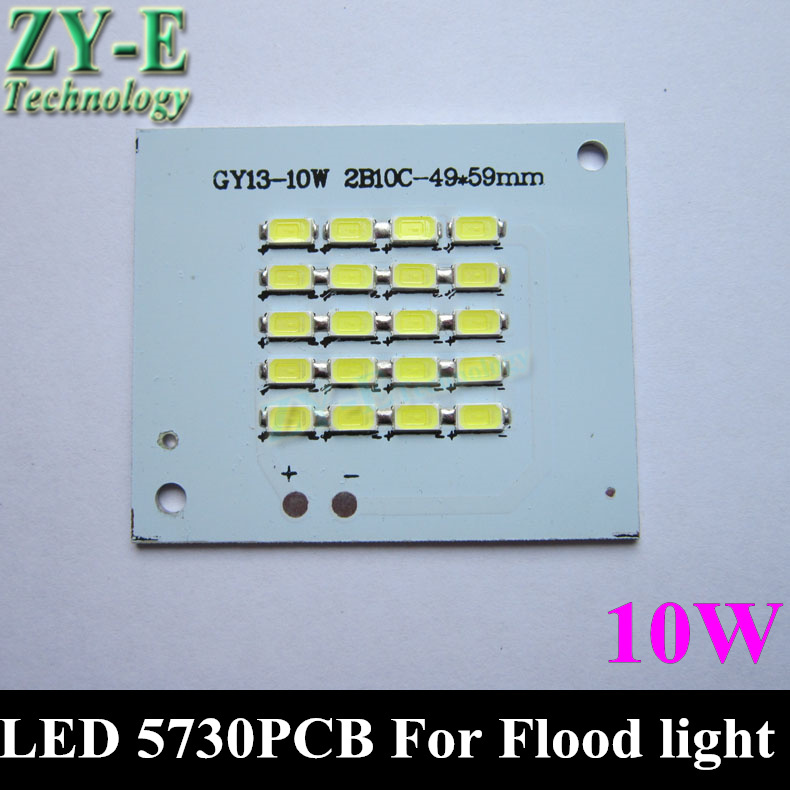 10pc LED Flood Light PCB 5730 SMD Chip plate resource DC18-36V Floodlight white outdoor landscape advertising Lamp 10w free ship<br><br>Aliexpress