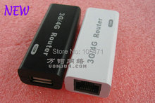 Smallest 3G Wireless Router 3G WIFI Router /AP/Hotspot with RJ-45 WAN/LAN port M1(China)