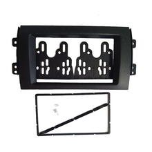 ITYAGUY Car Double 2DIN Refitting Radio Stereo DVD Frame Fascia Dash Panel Installation Kits For SUZUKI SX4 (07~10)