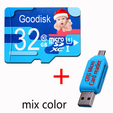 High Quality Micro SD Card Memory Class 6 4GB 8GB flash 16GB 64GB TF Card SD Card Real Capacity Colourful Memory Card 128 gb(China)