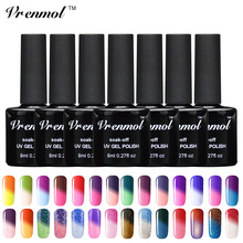 Vrenmol 1pcs UV Gel Nail Polish Temperature Color Changing Gel LED UV Soak off Gel Lacquer 8ml Long Lasting Nail Gel