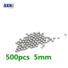 500pcs Replacement Parts 5mm Diameter Bike Carbon Steel Ball Bearing Cycling Riding Bike Replace Equipment Repair Replacement(China)
