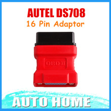 [AUTEL Distributor] 100% Original DS708 OBD 16Pin Adaptor For Autel DS708 with Free shipping