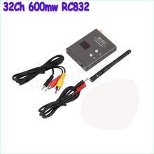 Wholesale 1pcs 32Ch 600mw RC832 5.8G 3.5km Wireless AV Receiver Power Off Memory for FPV