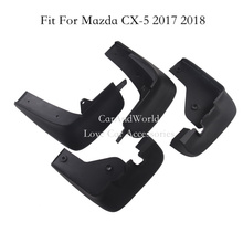 For 2017 2018 Mazda CX-5 CX5 Mudguards Mud Flaps Splash Guards Fender Mud Guard CX 5 Car styling Accessories(China)