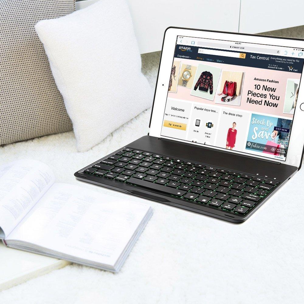 Wireless 3.0 Bluetooth keyboard Black 8