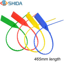 25pcs 465mm Length Tags Plastic Nylon Cable Ties Tightener Seals Security Wire Padlock Cable Ties for Cargo Container Seal Lock