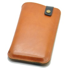 For BlackBerry Aurora cases ultra-thin super slim phone sleeve cover, vintage microfiber stitch pouch(China)