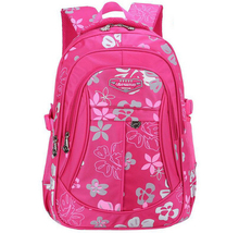 Fashion Grade1-6 Orthopedic Breathable Flower Primary School Bags Kids Backpack Teenagers Boys Girls Mochila Schoolbags Satchel