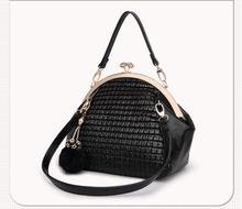Fashion Women Leather Messenger Bags michael Handbags Fur Ball Tassel Lady Shoulder Bags louis cc Bags Flap bolsa feminina sac