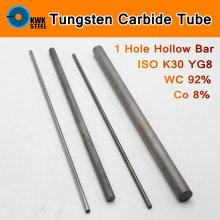Tungsten Carbide Pipe ISO K30 YG8 44A K1 VC1 H10F HX G3 THR WC Co Tungsten-cohalt Alloy Steel Tube Mould Metal 1 Hole Hollow Bar(China)