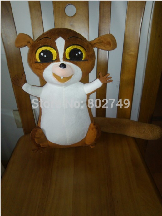 Madagascar 2 Penguins Mort the Lemur 55cm  Plush Doll PP Cotton Handmade<br>