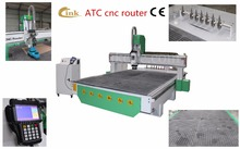 New product auto tool changer cnc router/ woodworking Italy air cooling spindle cnc router machine/cnc router kit(China)
