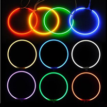 68.5mm, 80mm, 95mm CCFL Angel Eyes Halo Ring For Most Car Projector Lens,Cold Cathode Fluorescent Lamp,6 Colors Available(China)