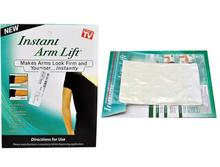 Retail pack Instant arm lift makes arms look firm and younger arm shaping transparent lifting strips sticker AS SEEN ON TV