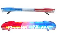 United Safe free shipping ESL1412 low profile GEN III 1 Watt super bright LED Lightbar(amber/blue/red/white)