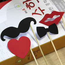 Buy 10pcs/lot Fashion Photo Booth Props Bride Groom Wedding Decoration Photobooth Bridal Shower Event Birthday Party DIY Supplies for $1.23 in AliExpress store