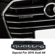 ABS Special Lastest design for 2016 audi A6 Quattro car grille and car rear sticker