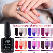 MDSKL Temperature Color Changing Nail Gel Polish Long-lasting Soak-off LED UV Thermo Chameleon Nail Polish For Fashionable Woman