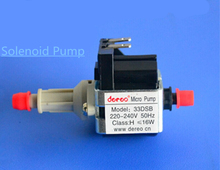 Solenoid Pump for Steam iron   cleaning machine   generator   smoke machine   coffee machine  Medical device  Floor care machine