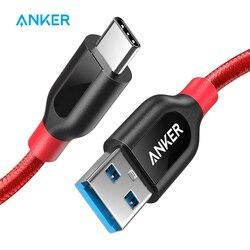 Anker Powerline + USB C к USB 3,0 кабель, кабель usb type C, высокая прочность для samsung iPad MacBook Sony LG htc Xiaomi 5 и т. д.